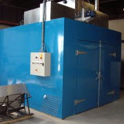 Hot air oven system