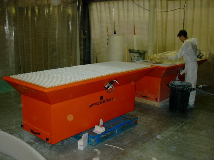 Sandbox downdraft sanding table