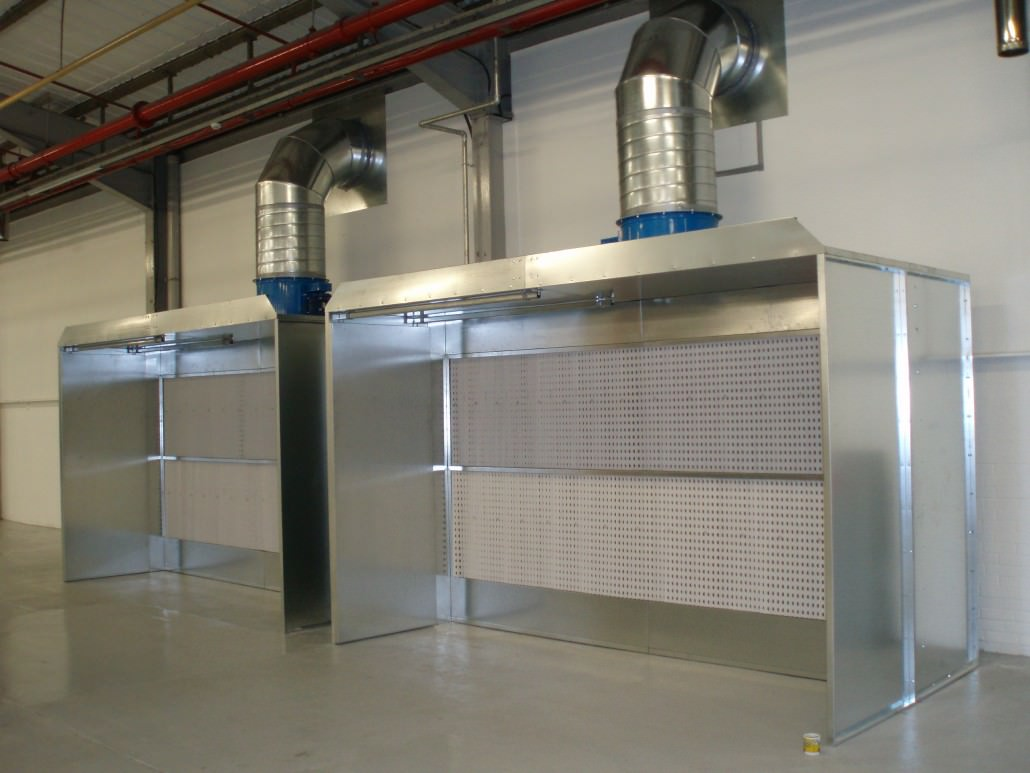 Manual Spray Booths Schuberts