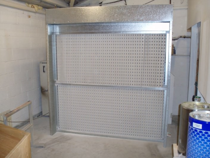 Manual Spray Booth