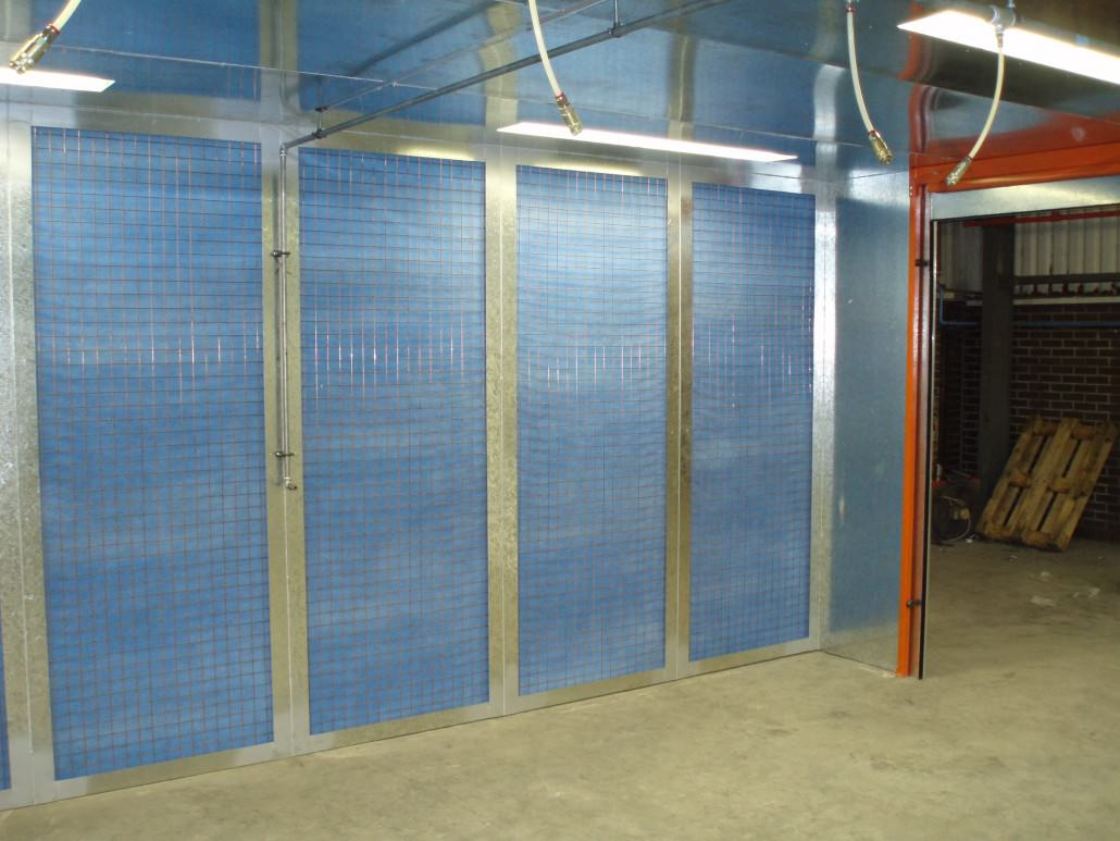 Manual Fully Enclosed Spray Booths Schuberts