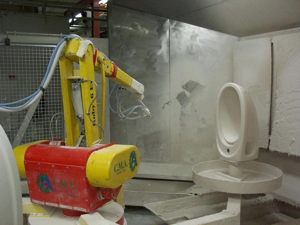 Estipolio Robotic Spray Systems Schuberts